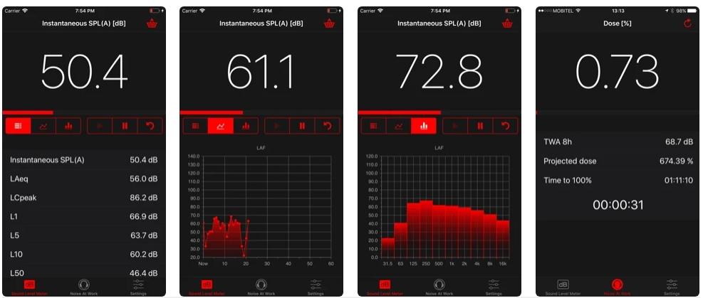 NoiSee iOS App