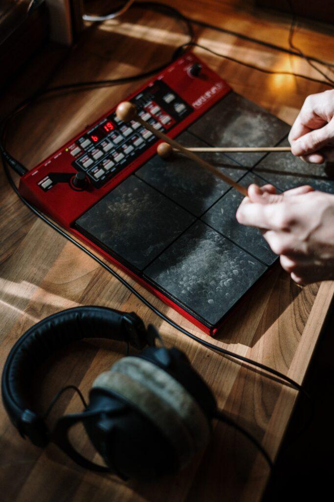 spund meter for electronic octapad