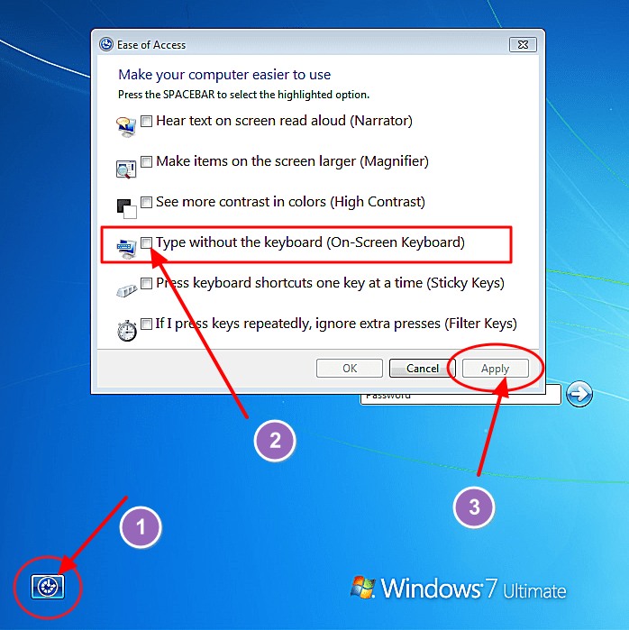 use-ease-of-access-to-login-in-winodws-7