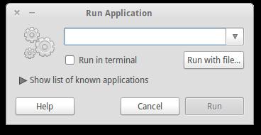 Run command in Gnome